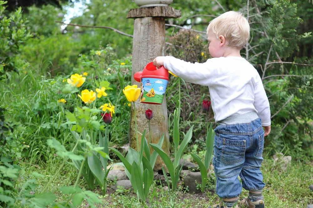 tuinieren met je kind