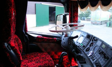 Interieur vrachtwagen inrichten