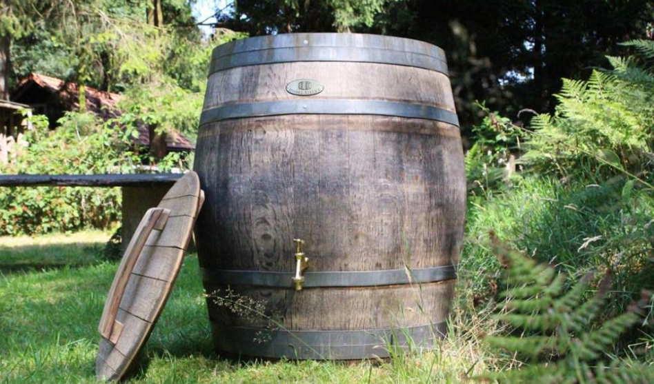 Voordelen van houten regentonnen